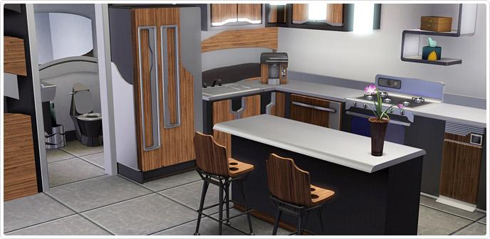 Ultrachill-Küche und -Badezimmer - Store - Die Sims™ 3