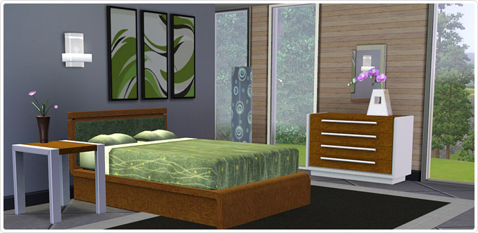Chambre ultra design store les sims 3 for Chambre ultra design