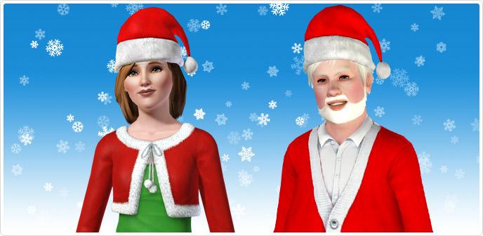 Addobbi Natalizi The Sims 3.Sim Natale Store The Sims 3